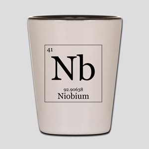 Elements - 41 Niobium Shot Glass