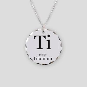 Elements - 22 Titanium Necklace Circle Charm