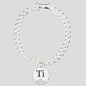 Elements - 22 Titanium Charm Bracelet, One Charm