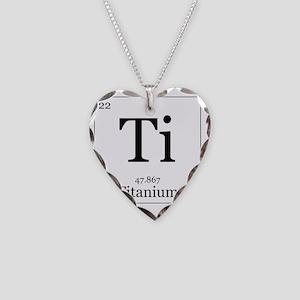 Elements - 22 Titanium Necklace Heart Charm