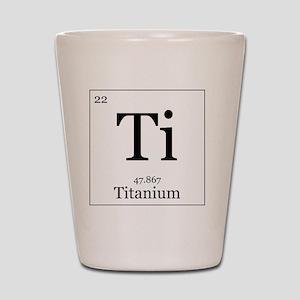 Elements - 22 Titanium Shot Glass