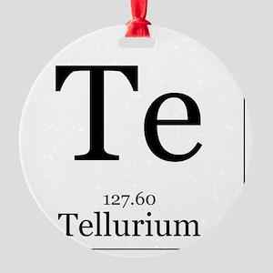 Elements - 52 Tellurium Round Ornament