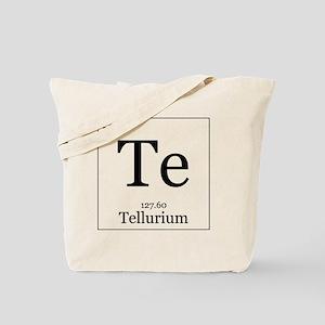 Elements - 52 Tellurium Tote Bag