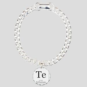 Elements - 52 Tellurium Charm Bracelet, One Charm