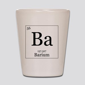 Elements - 56 Barium Shot Glass