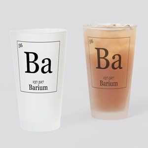 Elements - 56 Barium Drinking Glass