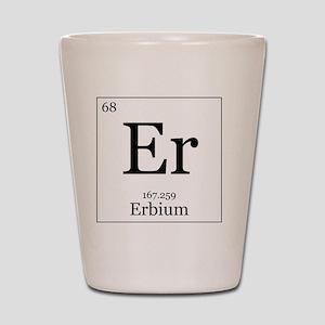 Elements - 68 Erbium Shot Glass