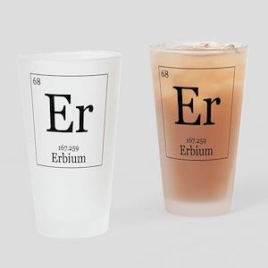 Elements - 68 Erbium Drinking Glass
