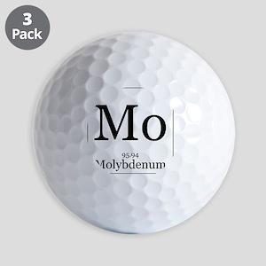 Elements - 42 Molybdenum Golf Balls