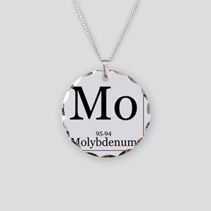 Elements - 42 Molybdenum Necklace Circle Charm