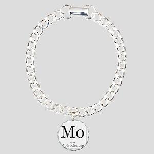 Elements - 42 Molybdenum Charm Bracelet, One Charm
