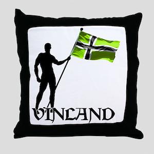 Vinland Patriot Throw Pillow