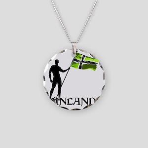 Vinland Patriot Necklace Circle Charm