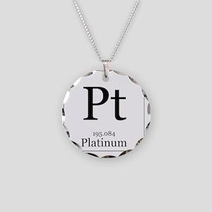 Elements - 78 Platinum Necklace Circle Charm