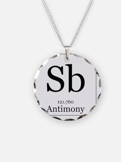 Elements - 51 Antimony Necklace