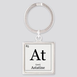 Elements - 85 Astatine Square Keychain