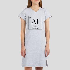Elements - 85 Astatine Women's Nightshirt