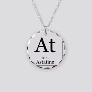 Elements - 85 Astatine Necklace Circle Charm