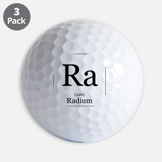 Elements - 88 Radium Golf Ball
