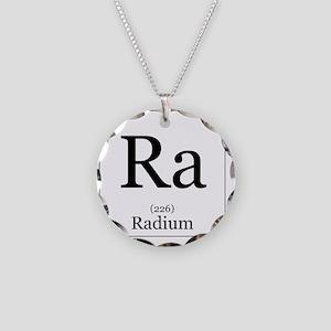 Elements - 88 Radium Necklace Circle Charm