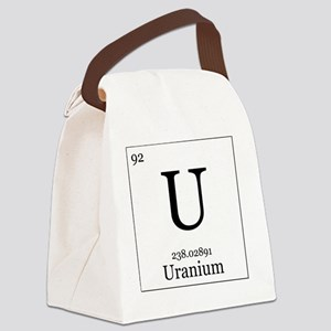 Elements - 92 Uranium Canvas Lunch Bag