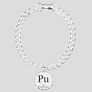 Elements - 94 Plutonium Charm Bracelet, One Charm