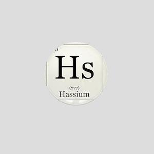 Elements - 108 Hassium Mini Button
