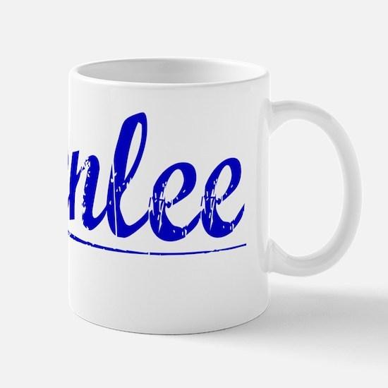 Greenlee, Blue, Aged Mug