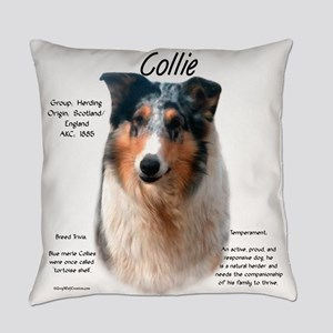 Collie (smooth merle) Everyday Pillow