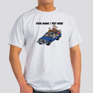 Custom Family Car Trip T-Shirt