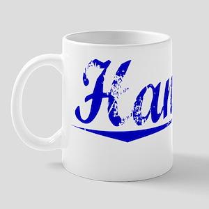 Hanover, Blue, Aged Mug