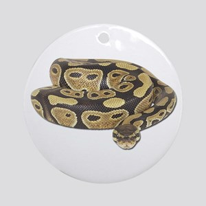 Ball Python Photo Ornament (Round)