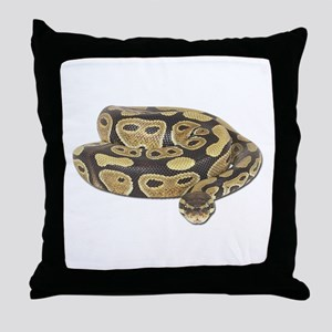 Ball Python Photo Throw Pillow