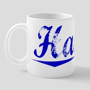 Hassel, Blue, Aged Mug