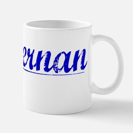 Heffernan, Blue, Aged Mug