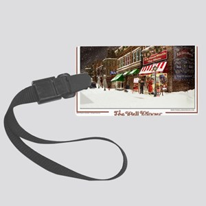 THE TOY STORE BELL RINGER Large Luggage Tag