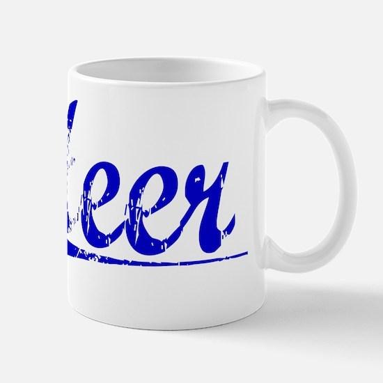 Heer, Blue, Aged Mug
