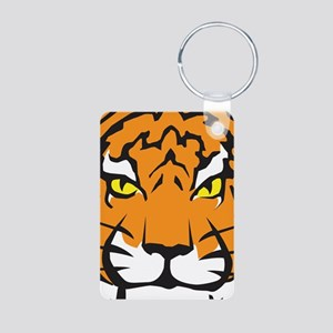 Tiger Aluminum Photo Keychain