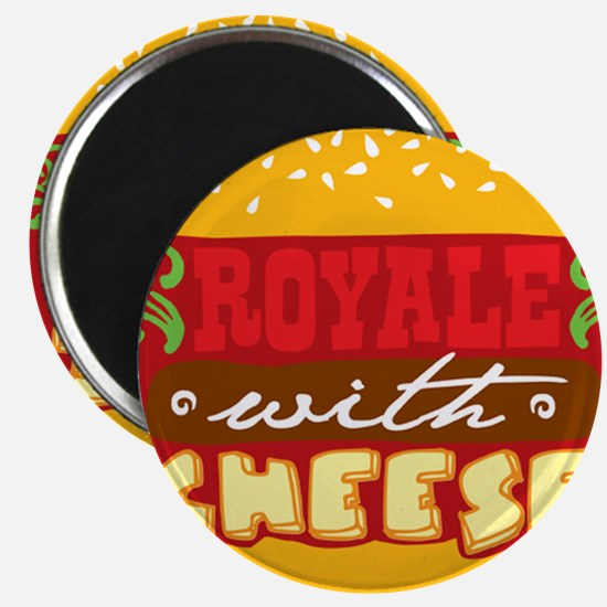 Royale With Cheese Magnet