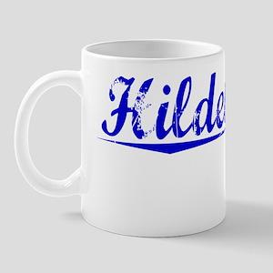 Hildebrandt, Blue, Aged Mug