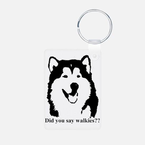 Did you say walkies? Keychains