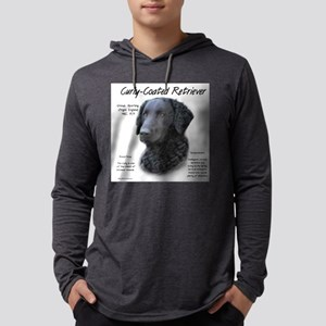 Curly-Coated Retriever Mens Hooded Shirt