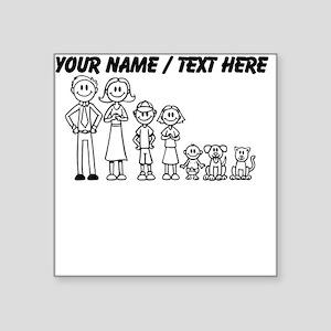 Custom Happy Family Sticker
