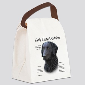 Curly-Coated Retriever Canvas Lunch Bag
