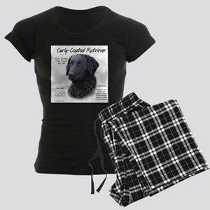 Curly-Coated Retriever Women's Dark Pajamas