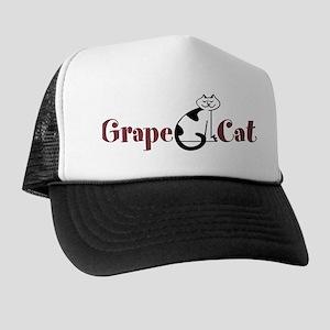 Grape Cat Trucker Hat