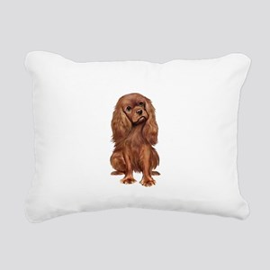 Ruby Cavalier 1 Rectangular Canvas Pillow