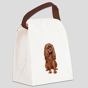 Ruby Cavalier 1 Canvas Lunch Bag