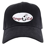 Grape Cat Black Cap