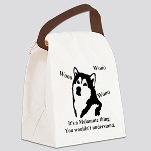Its a Malamute Thing.. Canvas Lunch Bag